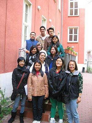 Gruppe der Ateneo de Manila University von den Philippinen zu Gast beim Carl Duisberg Centrum Berlin