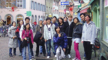 German Courses for School Classes and Groups